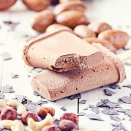 Polos de trufa con mantequilla de cacahuete