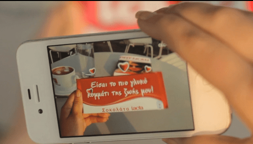 Personalizing A Chocolate Bar Using Augmented Reality Guerrilla Marketing Photo