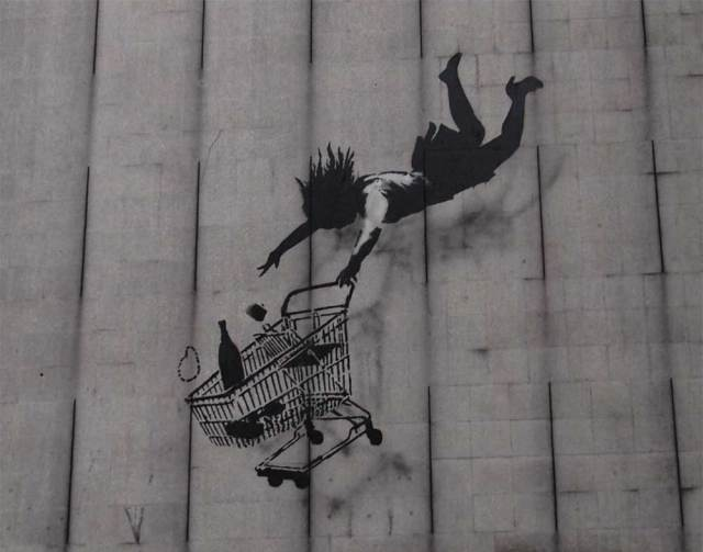 IKEA Follows Banksy and Turns to Graffiti Street Art Guerrilla Marketing Photo