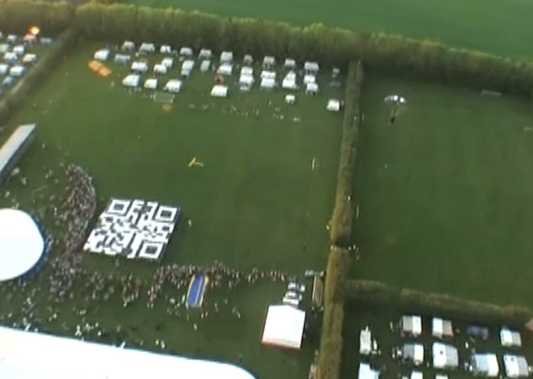QR from Sky