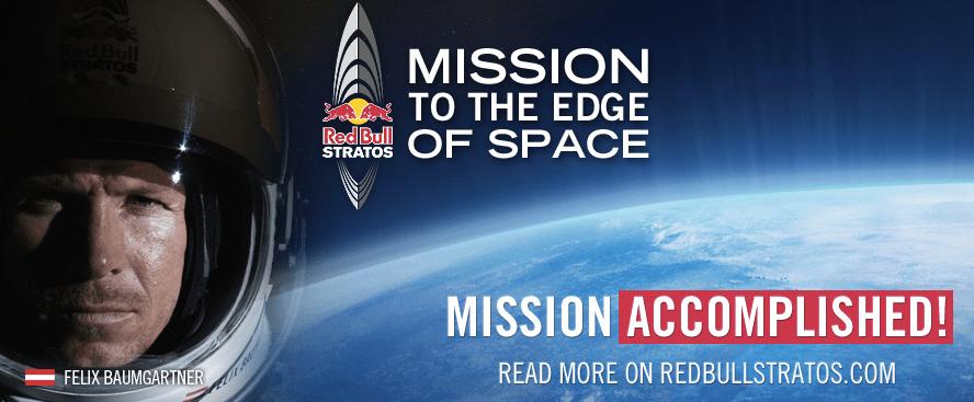 RedBull Stratos Mission Accomplished