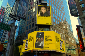Sprint Takes Over Times Square With The Unlimited Love Billboard 3