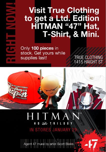 Hitman: Mobile Marketing & Street Art Collide Guerrilla Marketing Photo