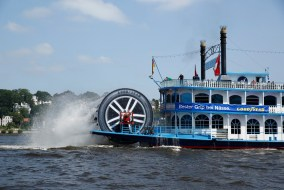 Goodyear Tires Paddle Wheel