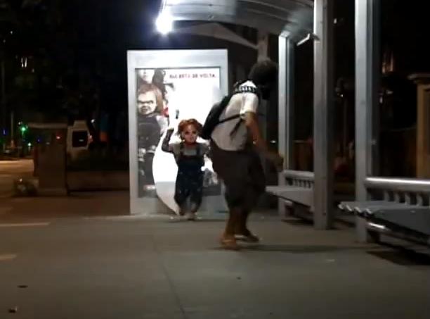 Chucky Prankvertising