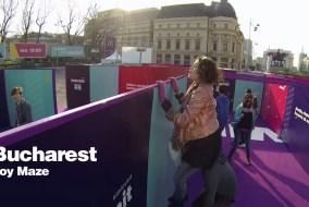 McDonald's Bucharest Joy Maze Will Get You Moving