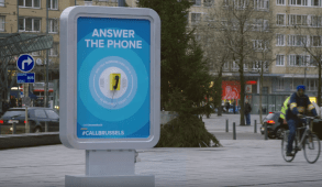 Call Brussels promotes tourism through actual calls with locals!