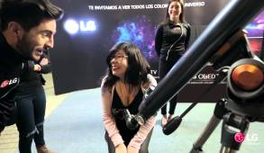 LG Telescope All The Colors Of The Universe OLED TV Marketing Campaign