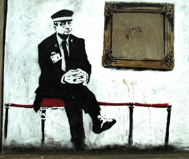 Taking on Marketing Like Banksy Guerrilla Marketing Photo