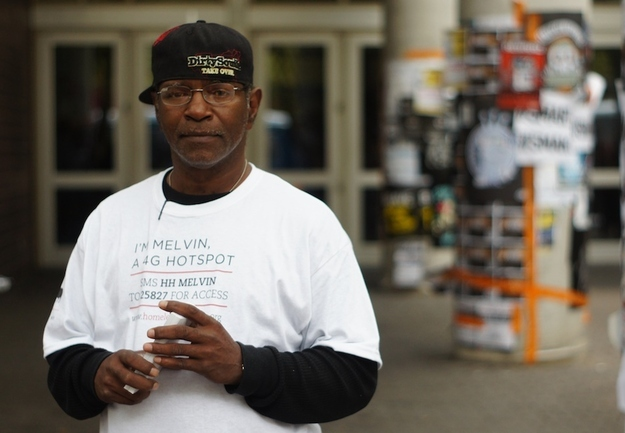 Homeless Become Wi Fi Hotspot During SxSW Guerrilla Marketing Photo