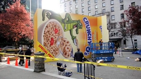 Hondas Cereal Box Prize Campaign Guerrilla Marketing Photo