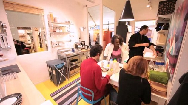IKEA France Pops Up Apartment In Paris Metro Guerrilla Marketing Photo