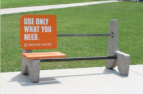 30 Creative Examples of Ambient Advertising by Denver Water Guerrilla Marketing Photo