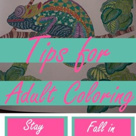 Tips for Adult Coloring