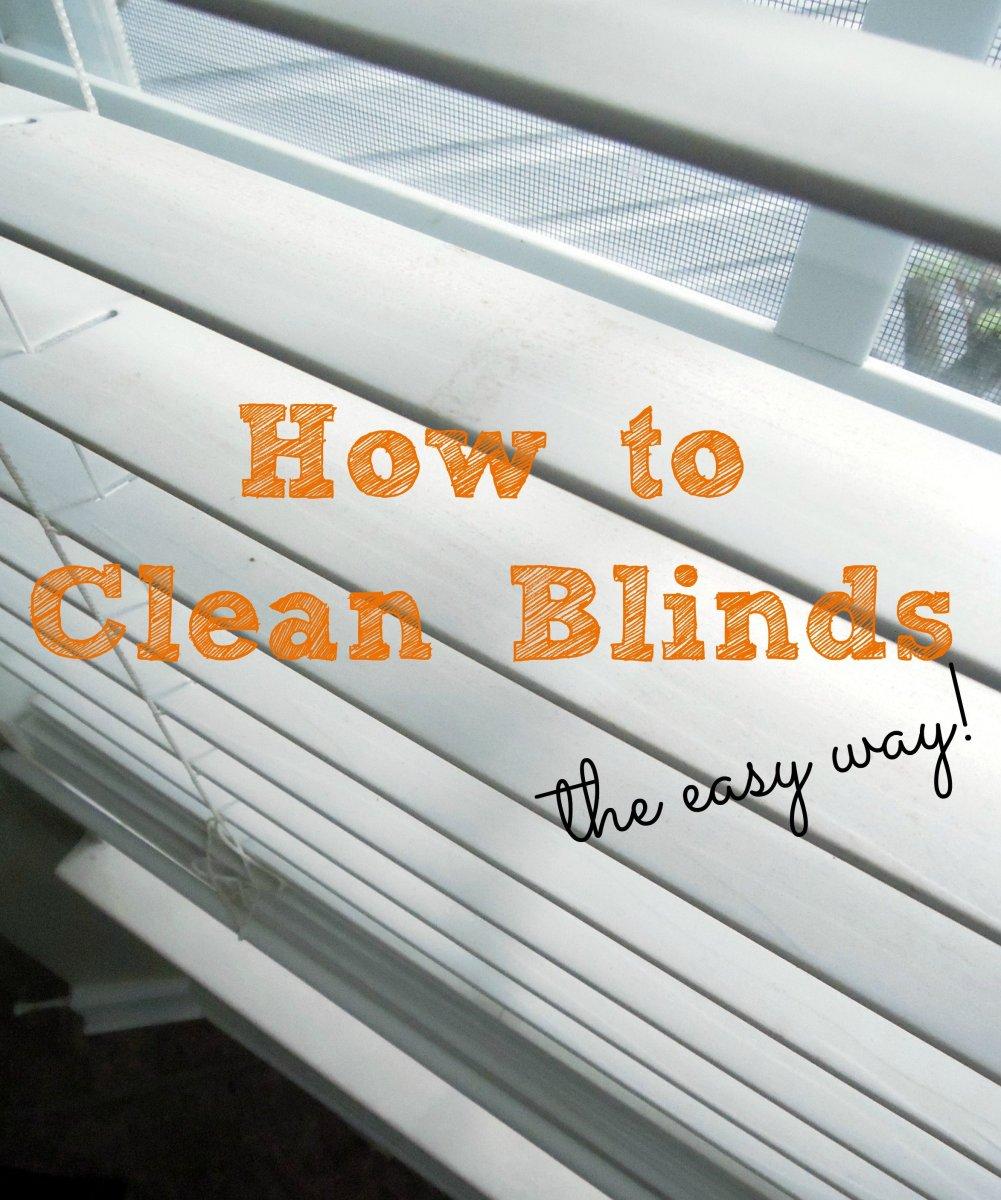 how to clean blinds. Black Bedroom Furniture Sets. Home Design Ideas