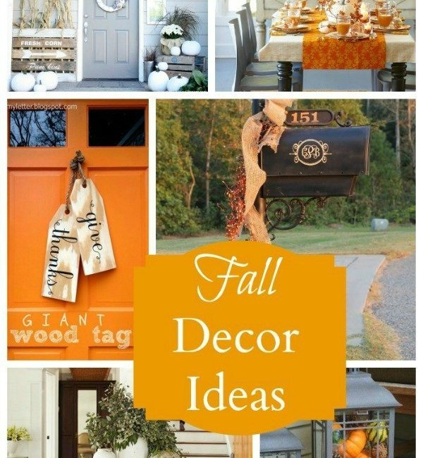 Favorite Fall Decorating Ideas