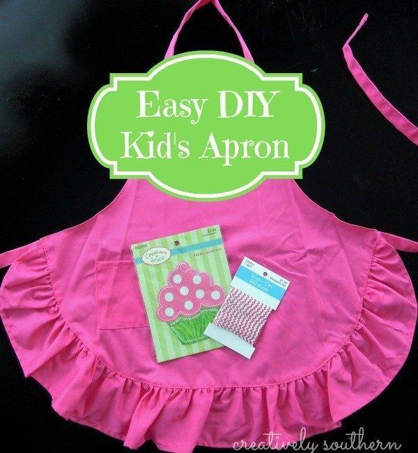 Easy DIY Apron for Kids