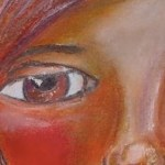 Whimsical: portret in gel sticks de la Faber Castell