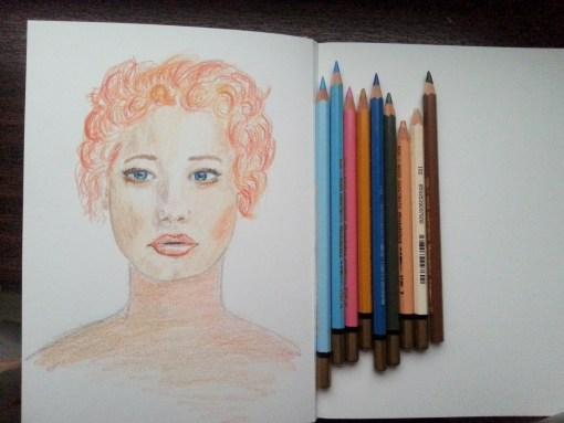 19/30 portrait challenge by Cristina Parus @ creativemag.ro