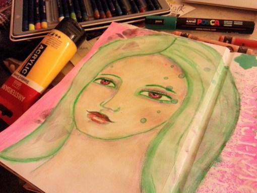 27/30 portrait challenge by Cristina Parus @ creativemag.ro