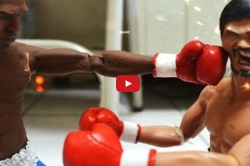 Pacquiao v Mayweather ACTION FIGURES     Stop Motion fight of the century    YouTube