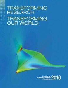 2016 Coalition for Academic Scientific Computation Brochure