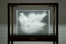 Three Dimensional Clouds in Layered Glass