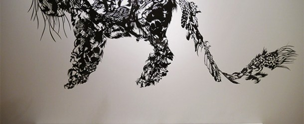 Hand Cut Single Sheet Paper Sculptures by Nahoko Kojima