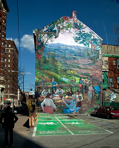 Independence Starts Here Mural