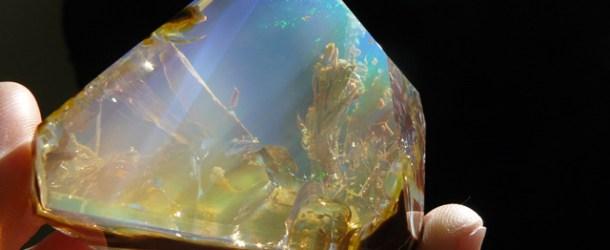 Crystal Opal Looks Like a Handheld Aquarium