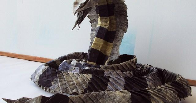 king cobra origami