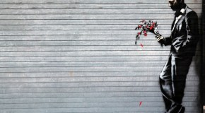New Banksy Piece Shows a Man Waiting