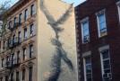 Energetic line murals by DALeast