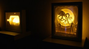 Amazing Backlit Paper Sculptures by Hari & Deepti