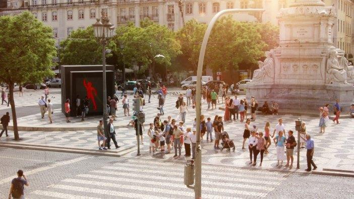 dancing pedestrian light 2