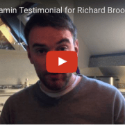 Jonny Benjamin Testimonial for Acupuncture in London with Richard Brook