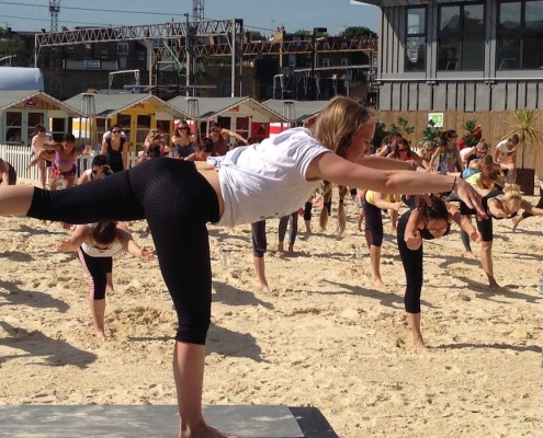 Creative Yoga with Richard Brook at Camden Roundhouse Beach London