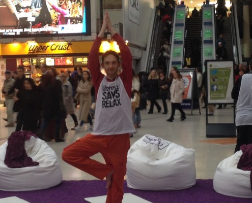 Bespoke Corporate Yoga and Workplace Wellbeing Events London