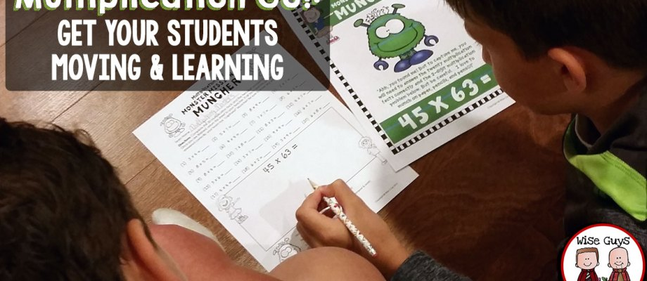 Multiplication Go!: Get Your Students Moving and Learning!