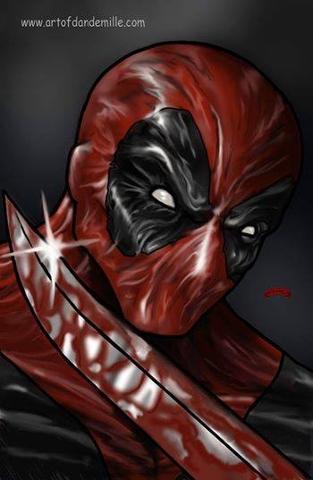 Art of the Day Deadpool Cool, Satine takes on the road and more