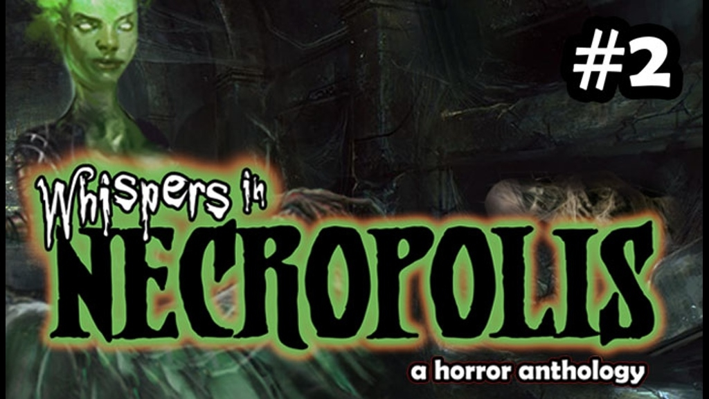 Whispers in NECROPOLIS needs you to SHOUT to your friends to  Produce this Future Classic
