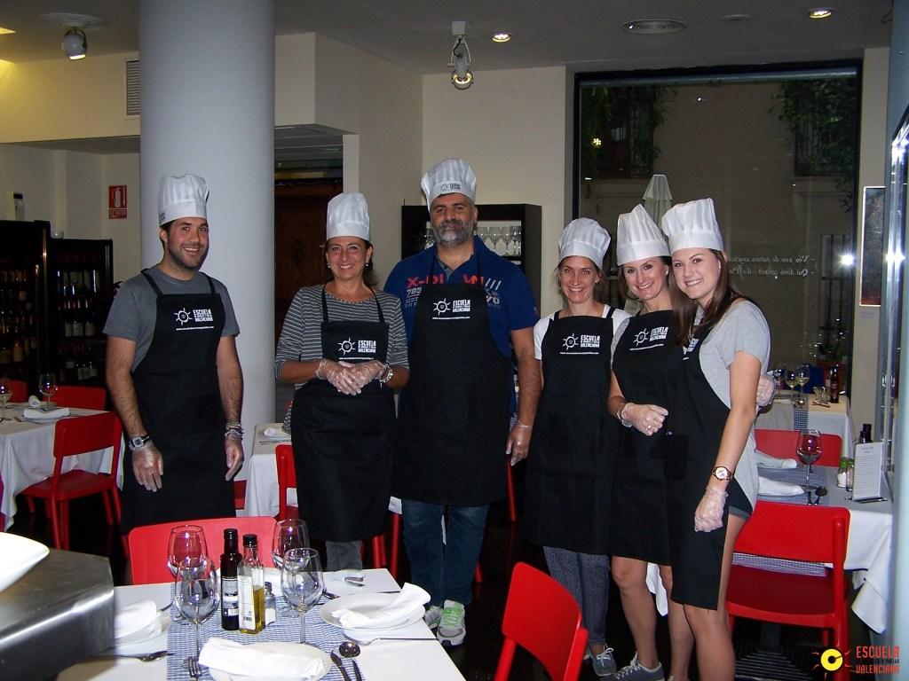 Klaar voor de workshop paella - Crema Catalana - blog over Spanje