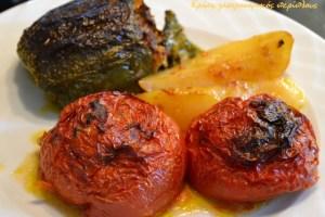Κλασικά γεμιστά με κιμά στο φούρνο