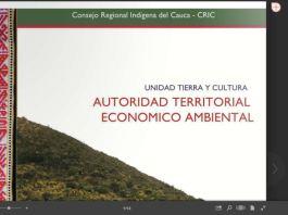 En desarrollo de los mandatos de los congresos de nuestra organización el Programa Económico Ambiental del Consejo Regional Indígena del Cauca CRIC,
