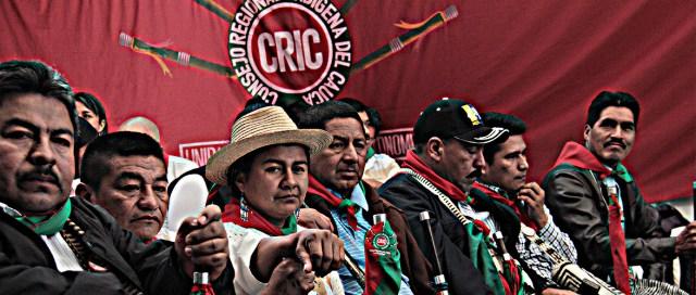 Consejería Mayor CRIC Evento Diálogos la María Piendamó, Cauca Colombia Copyright Comunicaciones CRIC 2016