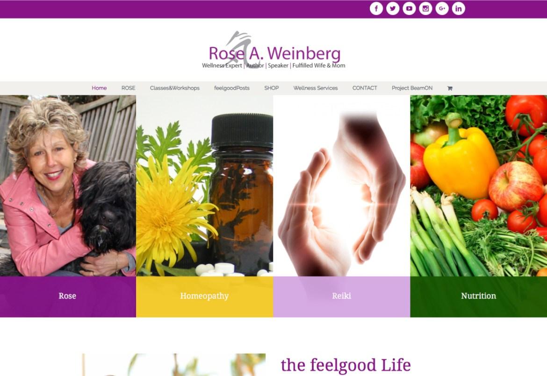 Rose-A-Weinber-Website
