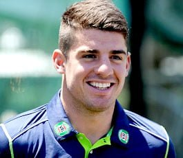 Henriques who got his baggy green for the first test match against India in Chennai.
