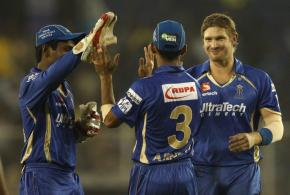 Watch: Watson takes 2nd hat-trick of IPL7 in two over