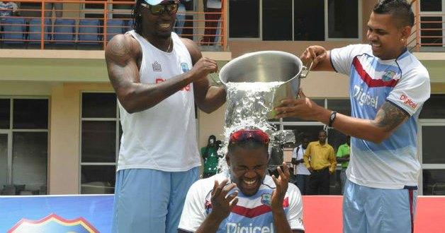 The ALS Ice Bucket Challenge's Cricket Version
