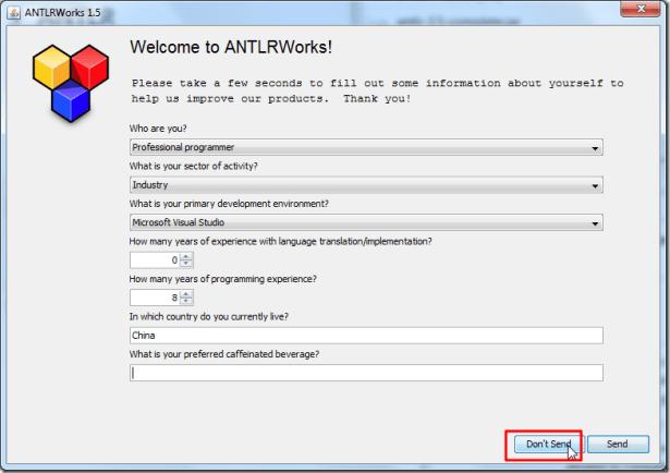antlrworks 1.5